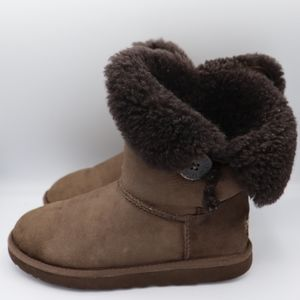 Uggs Shoes Australia Bailey Button Boots S…